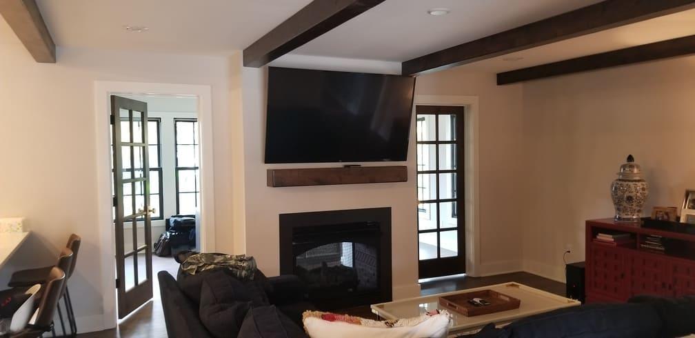 Overland Park Living Room. Johnson County Remodeling. Lenexa. Leawood. Olathe. Overland Park.