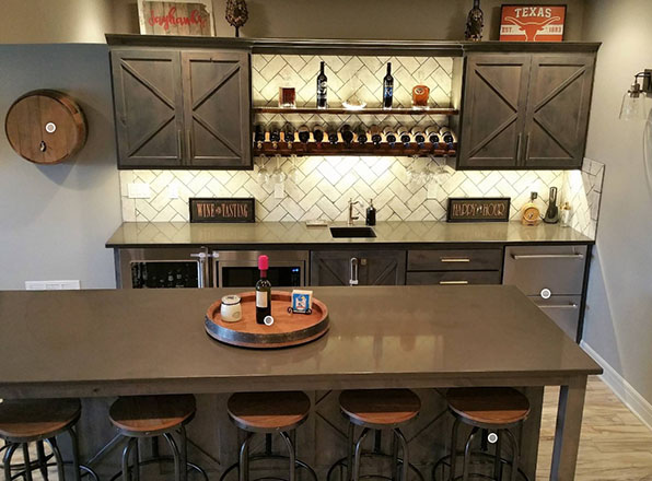 Johnson County Remodeling-Custom-Basement-Remodeling-Wine-Kitchen
