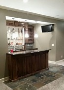 Johnson County Remodeling-Basement-Remodeling-wet-bar