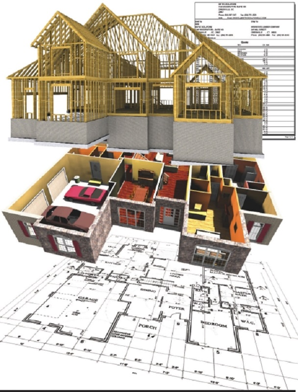 johnson county remodeling design build 3D illustrations