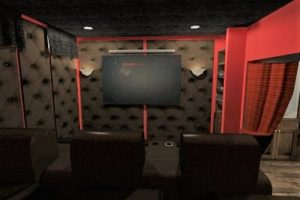 Johnson County Basement Remodeling Home Theater Rizzo Design