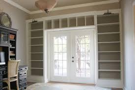 Home Office shelves doors
