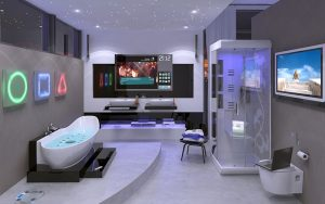 bathroom remodeling hi-tech design trends