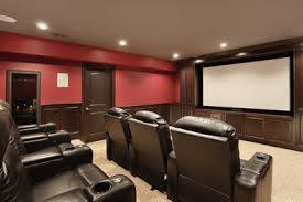 home theater large screen TV