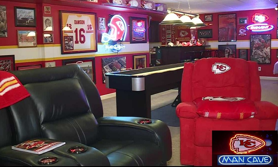 Basement Remodeling in Johnson County KC Chiefs and Royals Man Caves blog
