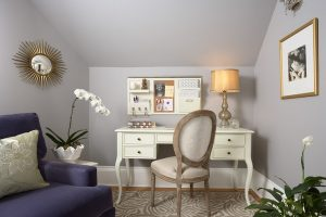 feminine home office design