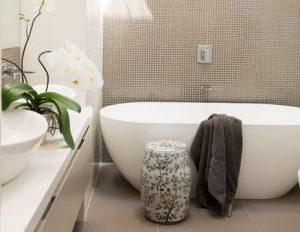 modern bathroom design soaking tub