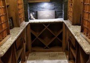 Johnson County Basement Remodeling Wine Cellars blog