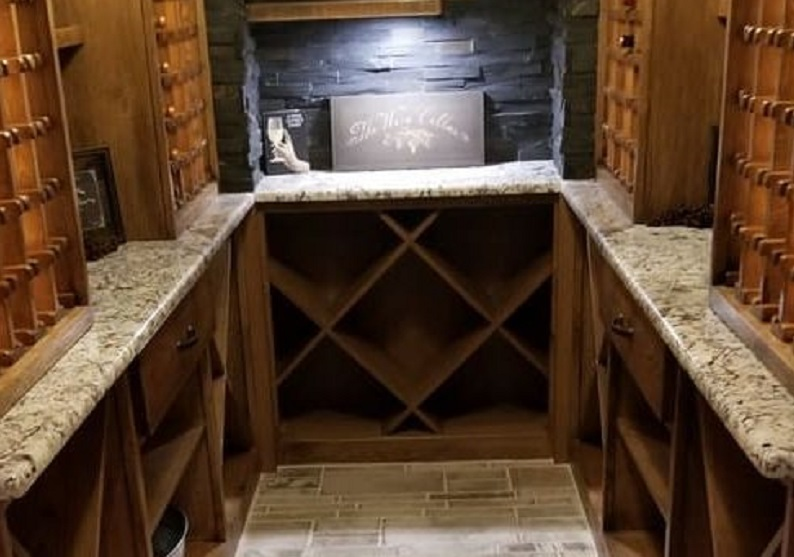 Johnson County Basement Remodeling Wine Cellars blog