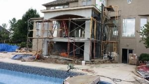 swimming pool home addition