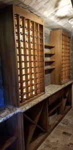 wine cellar remodeling